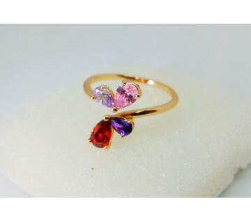 INDIAN GOLD PLATED FINGER RING