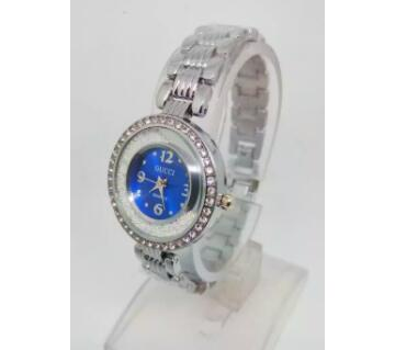 Blue Dial Watch for Ladies