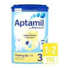 Aptamil 3 Growing Up Milk Powder-900g (for 1-2 Years)