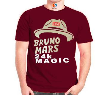 BRUNO MARS Mens Cotton T-Shirt