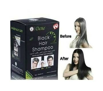 Dexe-black-hair-shampoo-25ml-uk-10pcs