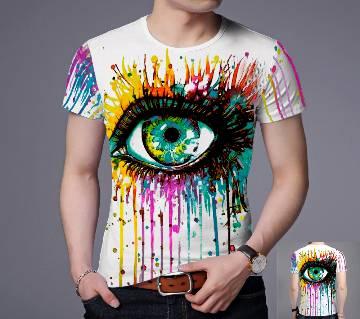 Gents Half Sleeve Slim fit Cotton T-Shirt