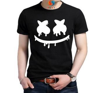 Marshmello Gents Half Sleeve Slim fit Cotton T-Shirt