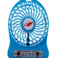 Rechargeable Mini USB fan - 1 pc