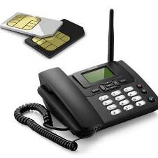 Sim Supported Land Phone