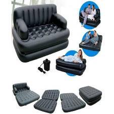 5 in 1 Sofa Cum Bed With Free Air Pump
