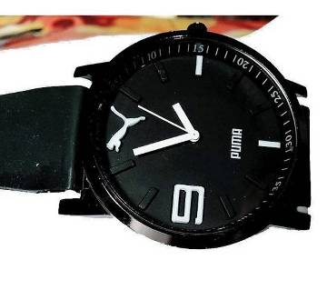 Black White Sports Watch for Men