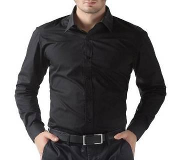 Full Sleeve Black Shirt for Man