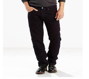Black Stretch Pants for Men