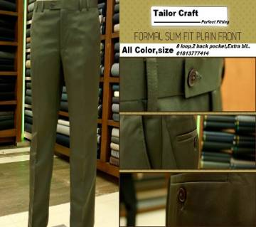 Customized Formal Pants