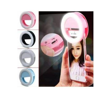 selfie rechargeable ring light lamp for phone