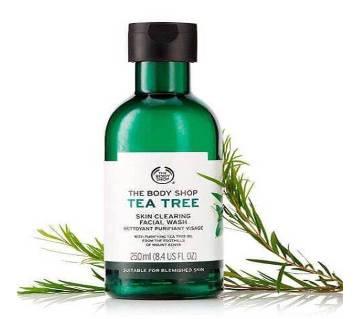 Tea Tree Skin Clearing Facial Wash 250ml - UK
