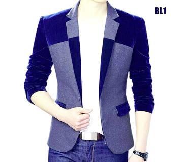 Navy Blue gray Blazer
