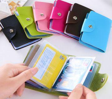Business Card Holder Multicolor
