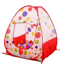 Ball Household Tent For Kids - With 50 Plastic Ball