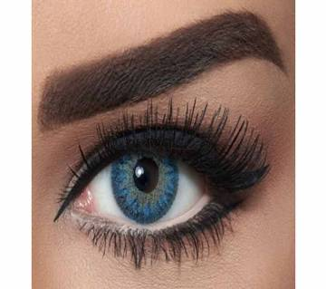 BELLA CONTACT LENSES NATURAL BLUE With Makeup box & Solution (Package)