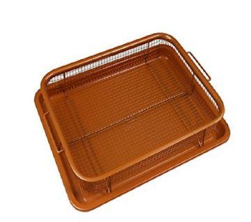 Copper Chef Crisper Non-Stick Basket & Baking Sheet(HS114)