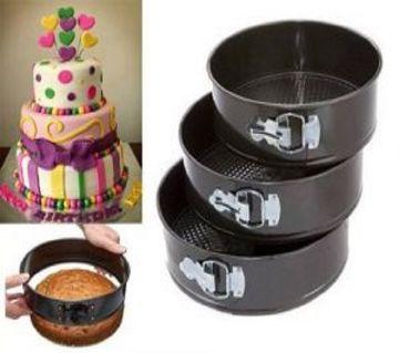 3 piece non stick cake pan