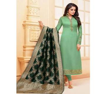 Meera Trendz Zisa Vol 54 Hit List - 10285 - Sea Green Unstitched Three Piece - Copy (Code-SU791)