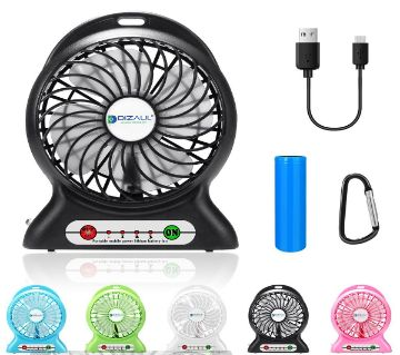 Mini USB Rechargeable Fan - Multiple Color - GNG