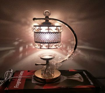 TOUCH TABLE LAMP WITH OPAL GLASS SHADE
