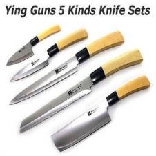 Ying Guns Knife - 5 Pcs Set