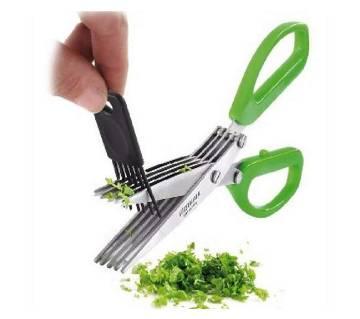 5 Layer stainless steel kitchen Scissors
