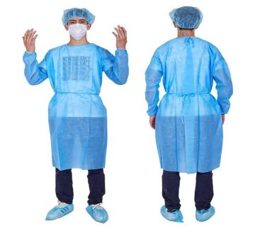 High Qualities Washable PPE Gown set (Gown+Head+Shoe Cover only).