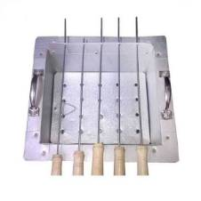 4-Stick BBQ Grill Maker Net Barbecue Stove