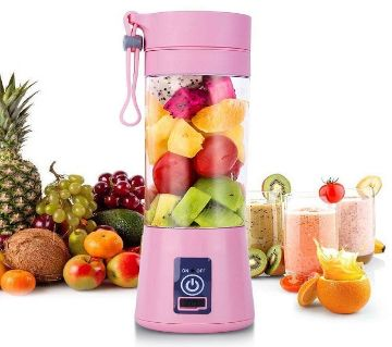 Rechargeable Juice Blender Pink