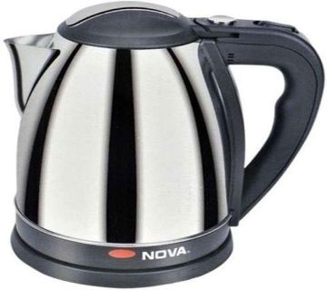 Nova Electric Kettle 1.5 LTR - Black and Silver