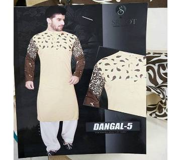 Indian Unstitched Cotton Punjabi for Men