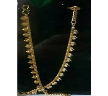 Gold plated Nupur