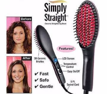 Simply Straight Hair Straightner Brash