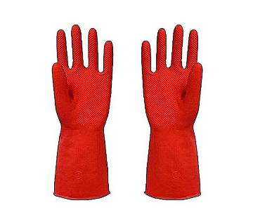 Half Hand Kitchen Gloves - Red