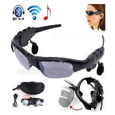 Polarized Lenses Sunglasses With Wireless Bluetooth Headsets