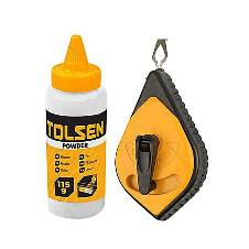 Tolsen Chalk Line Reel - Yellow and Black
