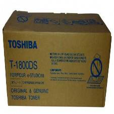 Toner Cartridge T-1800 DS  Genuine for Toshiba e-STUDIO 18