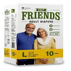 Friends Adult Diaper - Medium (10 Count)