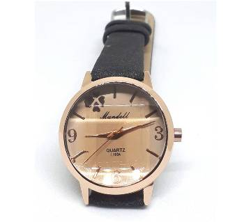 Ladies Lather Watch - MUNDELL copy