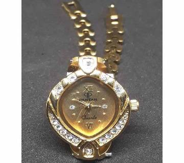 IMPORTED GOLDEN LADIES WRIST WATCH - PANTAN copy