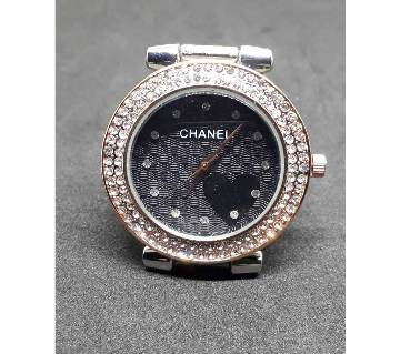 CHANEL ladies golden Diamond dial wrist watch
