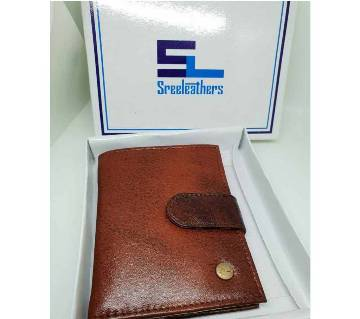 Shree-Lather Money Bag & Card Holder