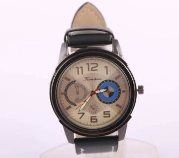 HRATREE gents leather wrist watch copy