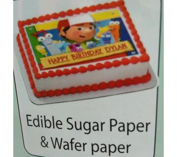 Edible সুগার পেপার (UK)