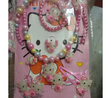 hello kitty jewellery set for kids 7 pcs