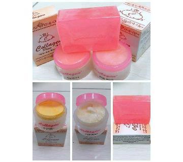Collagen plus vit e cream+soap - Malaysia