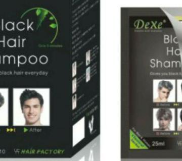 Dexe Black Hair Color Shampoo (China)