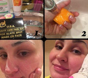 U.S.A Beauty Care Face Out For Black Spot Mask On