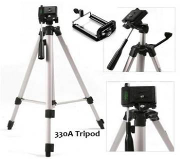 WT-330A Aluminum Professional Tripod Stand For Digital Camera and Mobile
